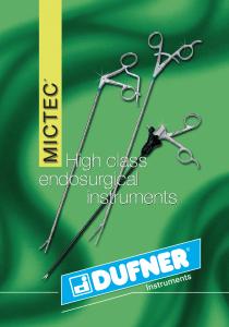 Dufner MICTEC laparoscopic instruments