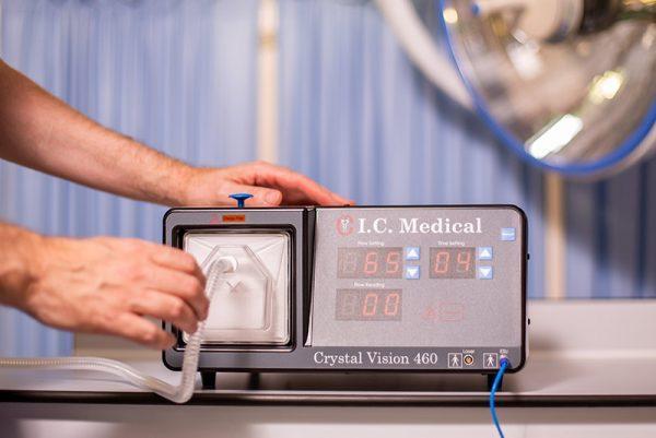 Crystal vision surgical smoke collection and evacuation